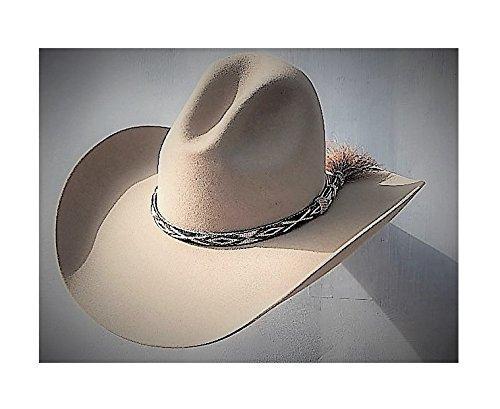 21a3471dedd12 Amazon.com  A222- 8X Fur Felt Western Hat  Handmade