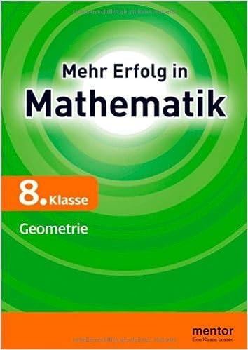 Mehr Erfolg in Mathematik 8. Klasse