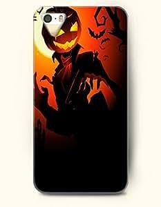 SevenArc iPhone 5 5s Case - Allhalloween Red Pumpkin Lantern Jack by icecream design