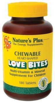 Nature's Plus - Chewable Love Bites Vit & Min, 180 chewable tablets by Nature's Plus - Chewable Love Bites
