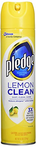 Pledge Lemon Clean Furniture Spray - 9.7 oz(pack of 1)