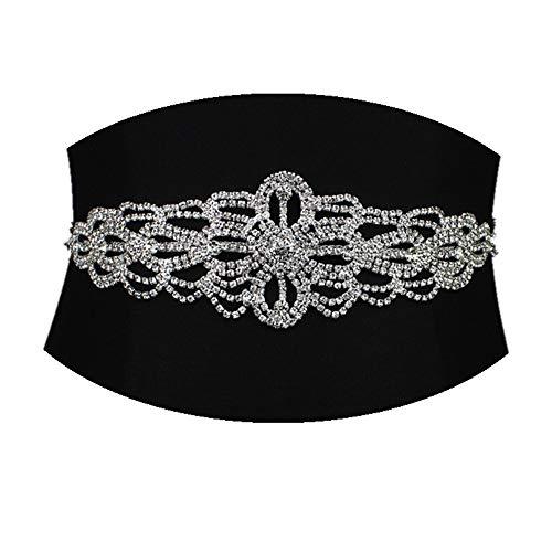 Bridal Belt Rhinestone Wedding Belt Bridal Sash Belt Crystal Dress Headband DIY Accessories
