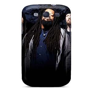 LauraAdamicska Samsung Galaxy S3 High Quality Hard Cell-phone Case Provide Private Custom Trendy God Forbid Band Pattern [DET10914qwOo]