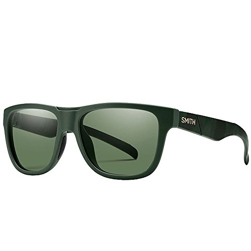 - Smith Optics Adult Lowdown Slim Matte Olive Camo Frame/Gray Green Lens Polarized Sunglasses