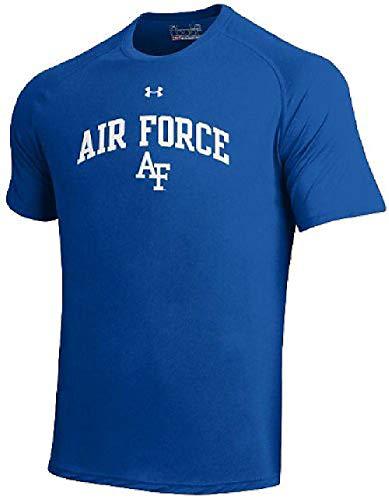 (Under Armour Air Force Falcons Royal Poly Dry HeatGear NuTech Performance Shirt (L=44))