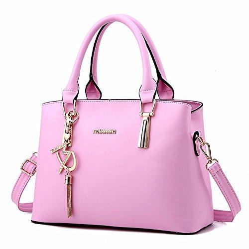 Pink Willsego De 2 Tamaño Gran color Para Bolso Bandolera Red 1 Mujer Capacidad nnqvSA8Ex