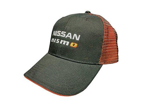 - Custom Nissan NISMO Mesh Snapback Cap - Orange