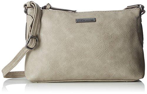 Tamaris Patty Crossbody Bag S - Bolsos bandolera Mujer Gris (Light Grey)