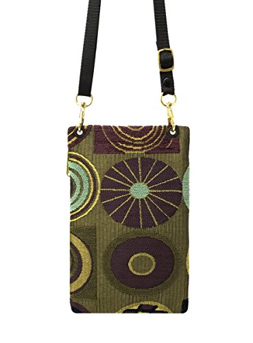 Purse Handmade Usa Women's Phone Danny K Tapestry Crossbody Passport In Cell purple Ascot Or 8n54zaP