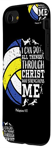 iPhone SE (2020) / 7 / 8 Gifts For Volleyball Players Teen Girls Boys Christian Phone Case