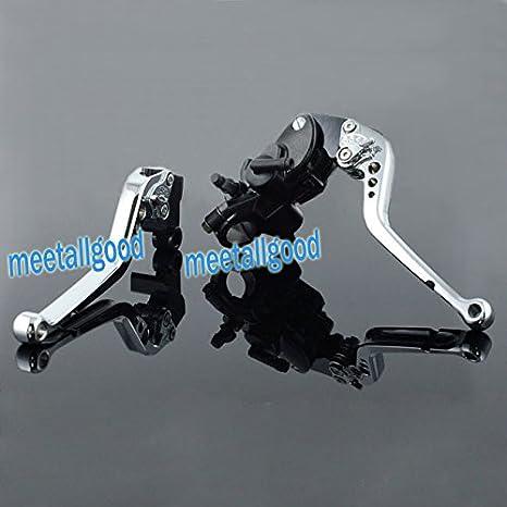 gzyf 2 x freno delantero Cilindro Maestro Embrague Palanca Bike Set para Kawasaki ZX-6R 05 - 13 S: Amazon.es: Coche y moto