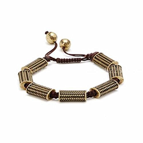 Armani Exchange AIX Mens Metal Bead Bracelet