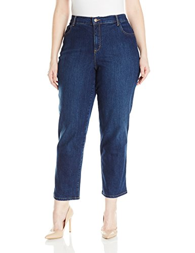 Gloria Vanderbilt Women's Plus Size Amanda Classic Tapered Jean, Scottsdale Wash, 20W Short -