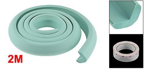 eDealMax espuma Home Office Furniture esquina del borde del Protector del amortiguador de la Turquesa