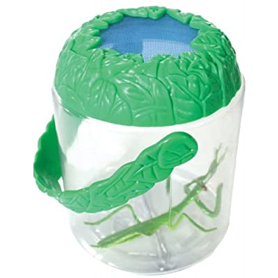 Ventilated Bug Jar - View And Collect Insects Up Close - Safe For Them And Fun For You : Toys & Games