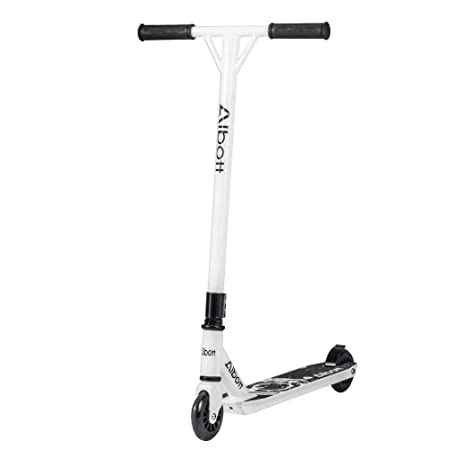 Albott Sports Pro Push Stunt Scooter Trick Kick Scooters 360 Degree Street Fixed Bar for Children Kids Adult