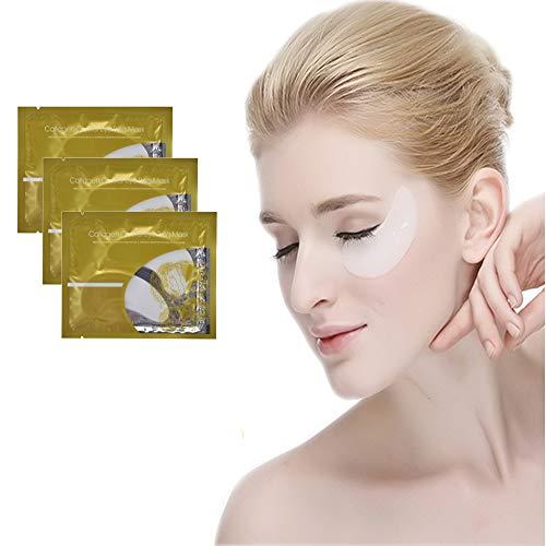 Crystal Collagen Eye Mask (50 Pair) Under Eye Gel Pads to Reduce Dark Circles, Wrinkles, Puffiness, Natural Anti-Aging ()