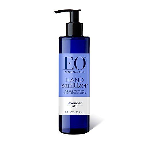 EO Botanical Hand Sanitizer Gel, Lavender, 8 Ounce