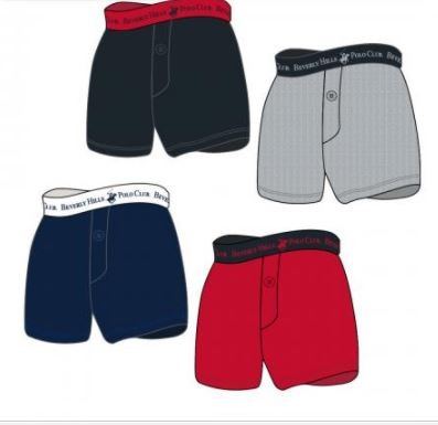 K&A Company Knit Solid Color Cotton Knit Boxer - Sizes 4-18 Case Pack 72 by K&A Company