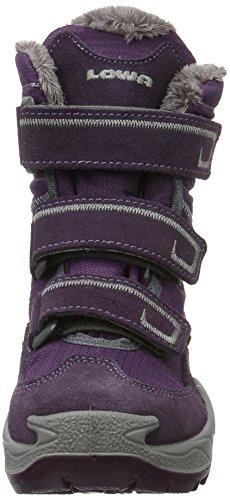 Lowa Milo - Botas de material sintético para niño Violett (Aubergine/Violett)