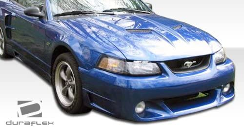 Compatible With Mustang 1999-2004 Brightt Duraflex ED-AHW-703 CVX Front Bumper Cover 1 Piece Body Kit