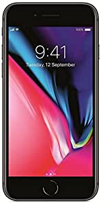 """Apple iPhone 8 4.7"""", 256 GB, Fully Unlocked, Space Gray (Certified Refurbished)"""