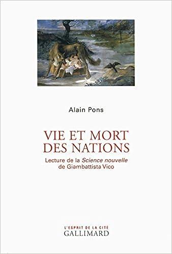 Vie et mort des Nations A. Pons G. Vico