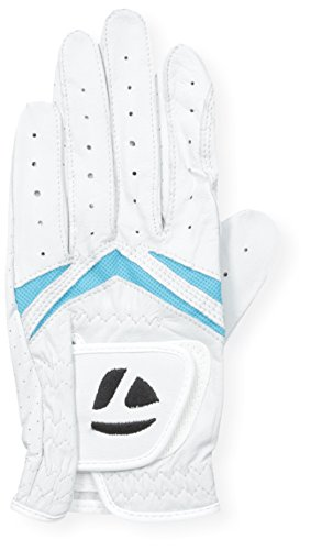 TaylorMade Women's Stratus White/Black Golf Glove