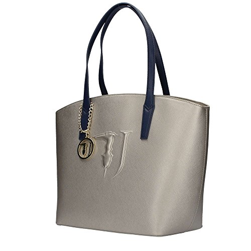 Trussardi ischia shopper grigio blu 75B560XX 449