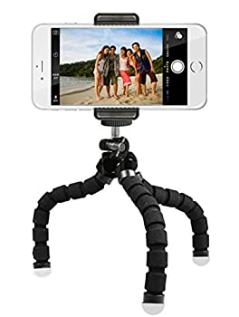 Digital Phone Tripod, Portable & Adjustable Camera Stand Holder Universal Clip For Iphone, Android Phone, Cam & Sports Camera Go Pro, Self Timer For Selfie 3