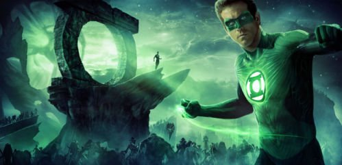 Green Lantern Hal Jordan Heroes Poster