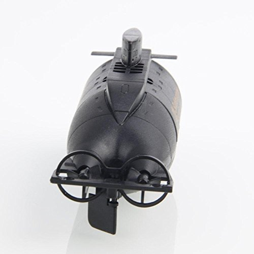 777-216 4Channel Mini Radio Remote Control Wireless Submarine Racing Boat Black