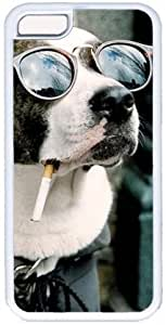 Cool Dog Apple iPhone 5C Case, iPhone 5C Cases Hard Shell Cover Skin Cases