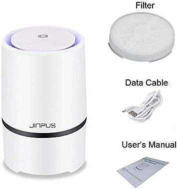 JINPUS Purificador de Aire Filtro para Reemplazo con Verdadero Filtro HEPA
