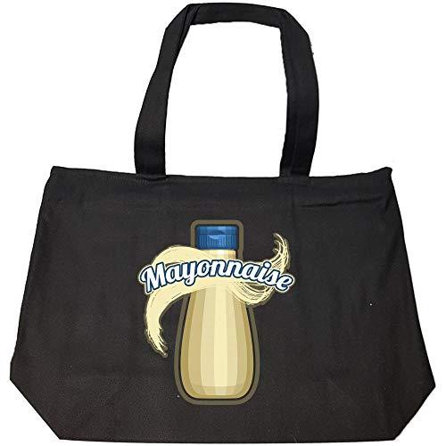 Mayonnaise Condiment Easy Trio halloween Costume Tshirt - Fashion Zip Tote Bag -