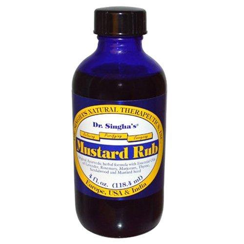 (Dr. Singhas Mustard Bath Mustard Rub, 4 Oz by Dr. Singha's)