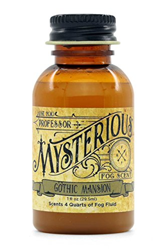 (Professor Mysterious Gothic Mansion Fog Machine Scent, ounce, 1x concentrate, treats 4 quarts)
