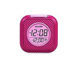 Sharp Vibrating Pillow Alarm Clock - Pink