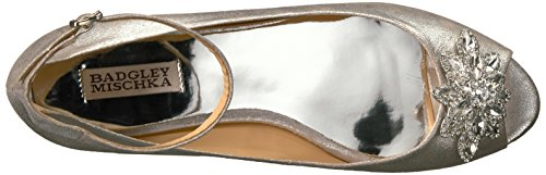 Badgley Mischka Womens Kaidence Argento