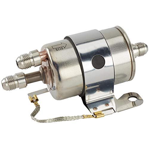 (LSx Fuel Filter/Regulator, 58 PSI, Includes AN 6 Fittings for LS Swap, EFI Conversion)