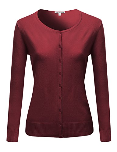 Womens Basic Cardigan Various colors