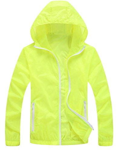 Lutratocro Mens Overcoat Breathable Thin Quick Drying Hooded