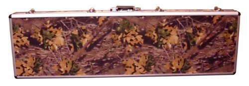 Boomstick Double Rifle Camo Gun Case (Key and Lock Combo Option) (Aluminum Camo Gun Case)