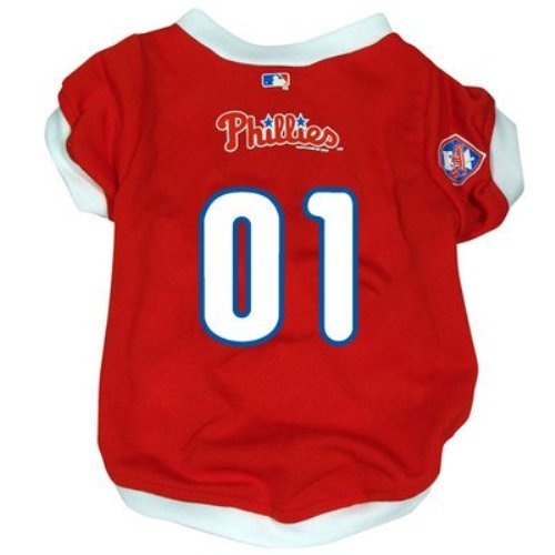 Hunter MFG Philadelphia Phillies Dog Jersey, Small