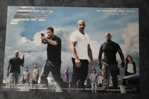 Fast Five 2011 D/S Advance Rolled Movie Poster 11x17]()
