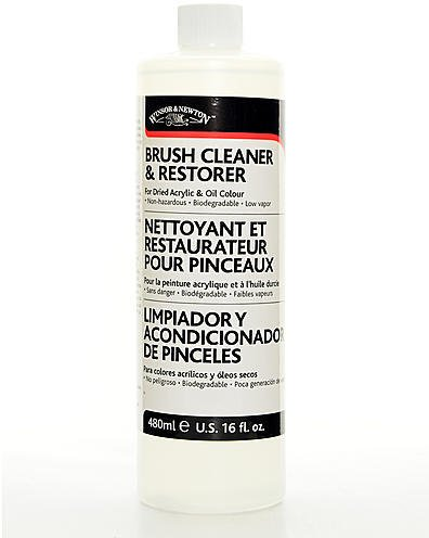 Winsor & Newton Brush Cleaner & Restorer (474 ml) 1 pcs sku# 1843544MA by Winsor & Newton