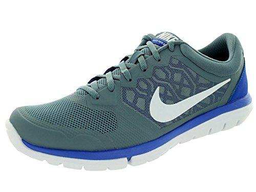 Nike Flex Experience RN 4 Running Shoe, Blue Graphite/White/Game Royal, 44 D(M) EU/9 D(M) UK