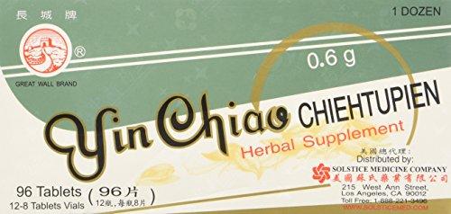 Solstice Medicine Company –  Yin Chiao Chieh Tu Pien (1 Box, 96 Tablets)