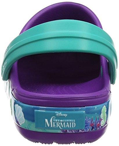 crocs Mädchen Crocband Princess Ariel Clog Kids Violett (Amethyst)