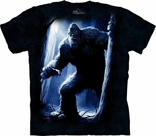 The Mountain Sasquatch Adult T-Shirt, Blue, Large
